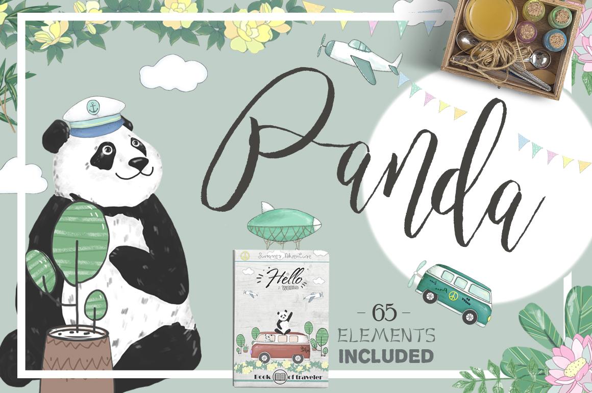 Pandas Graphics Set