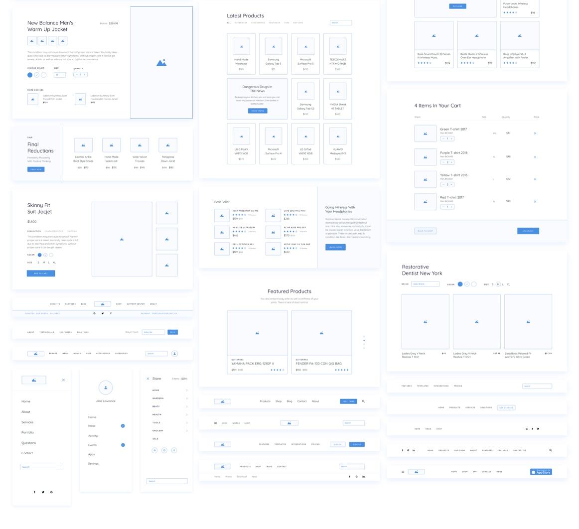 Method Wireframe Kit  [+200 Blocks]