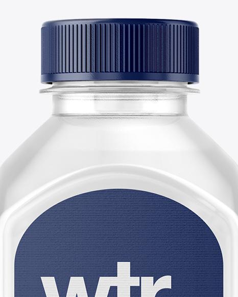 Square Water Bottle Mockup