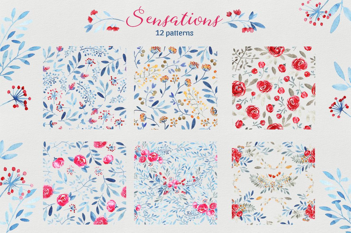 Sensations - pattern set