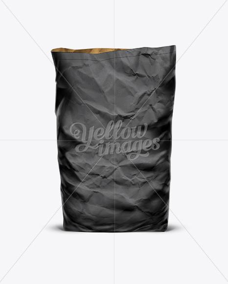 Download Black Paper Bag Mockup Free Yellow Images