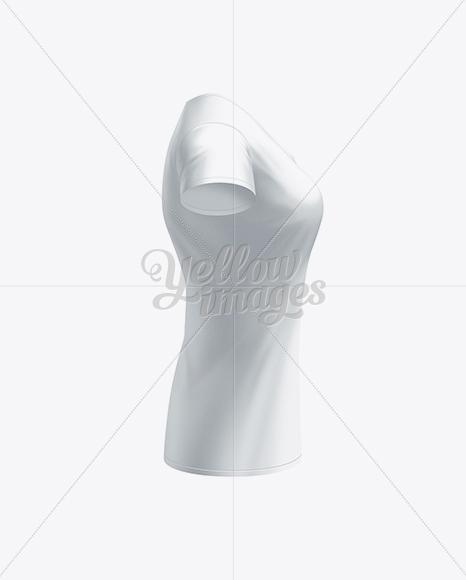 Women's T-Shirt Side View