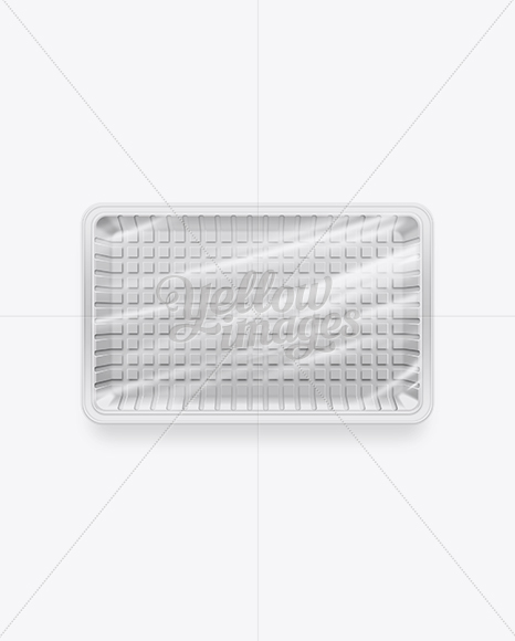 Download White Plastic Food Packaging Tray In Tray Platter Mockups On Yellow Images Object Mockups PSD Mockup Templates