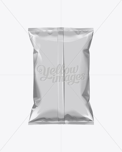 White Plastic Snack Package Medium