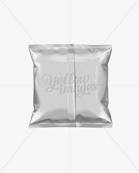 White Plastic Snack Package Small