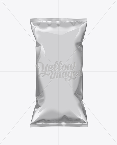 White Plastic Snack Package Large
