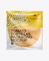 Tomato Tortillas Packaging Mockup