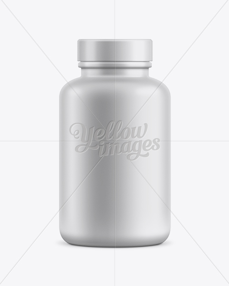 Supplement Bottle Mockup