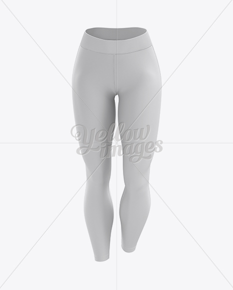 Leggings Mockup / Front View
