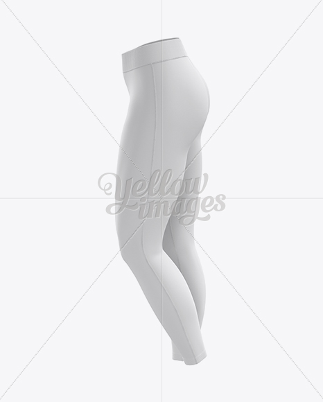Leggings Mockup / Side View