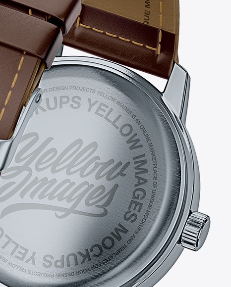 Watches Mockup - Half Back View
