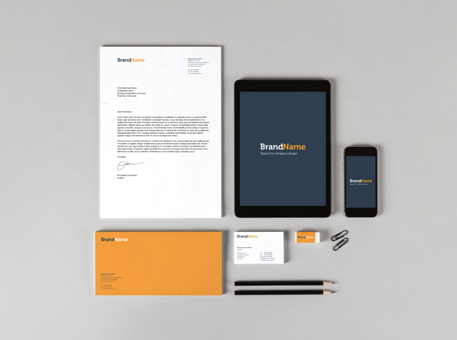 Branding Identity Mock Ups Templates In Stationery Mockups On