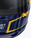 F1 Helmet Mockup - Front View