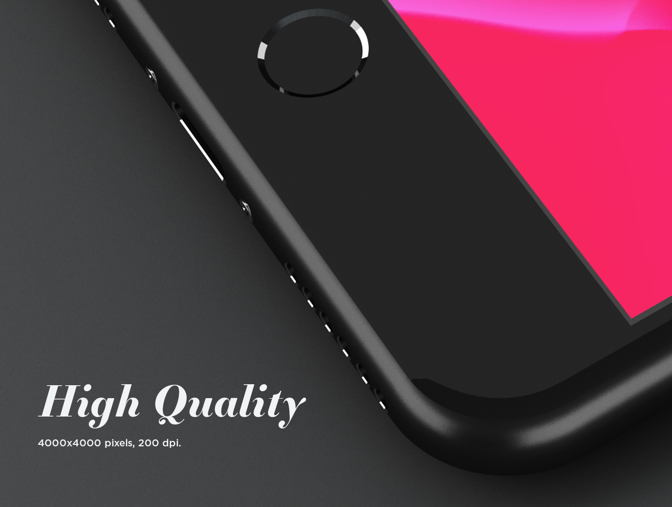 iPhone 8 Plus Design Mockup