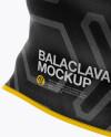 Balaclava Mockup - Side View