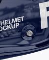 F1 Helmet Mockup - Side View