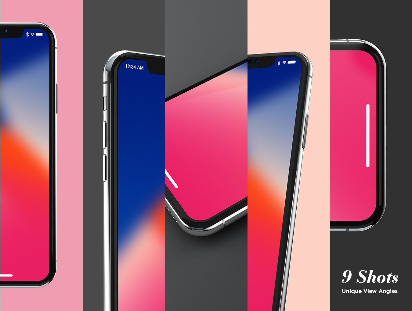 iPhone X Design Mockup