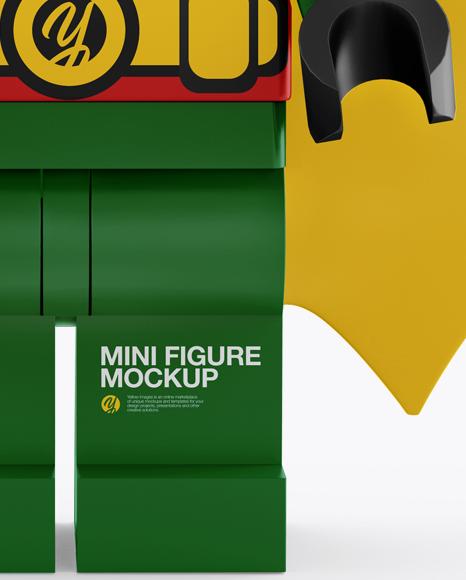 Super Hero Mini Figure Mockup