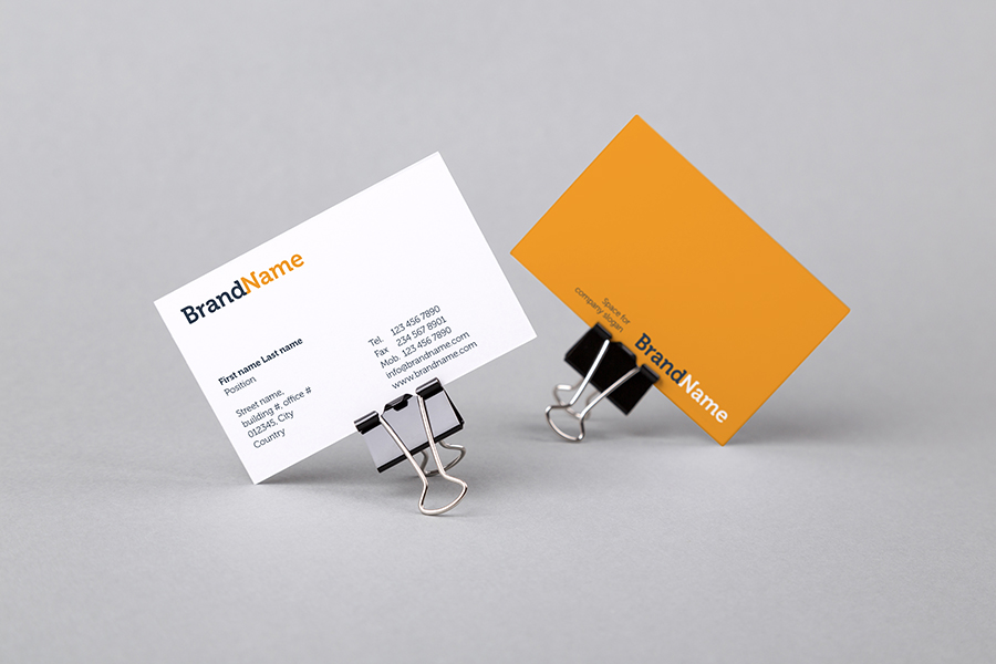 Business cards Mock-Ups + Templates