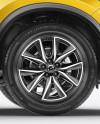 Mazda CX-5 Mockup - Side View