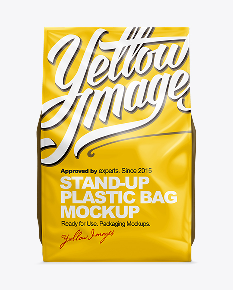 14lb Cat Litter Package Mockup - Front View