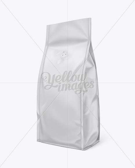 Coffee Bag w/ Valve Mock-Up