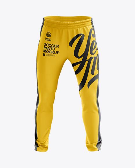 Soccer Pants Mockup - Front View