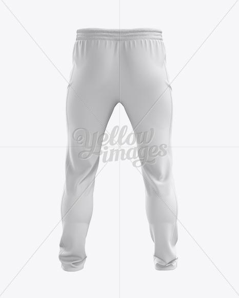 Soccer Pants Mockup - Back View