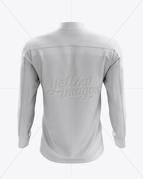 Download Mens Midlayer Soccer Shirt Mockup Back View Yellowimages