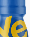 PET Energy Drink Bottle W/ Matte Shrink Sleeve Mockup