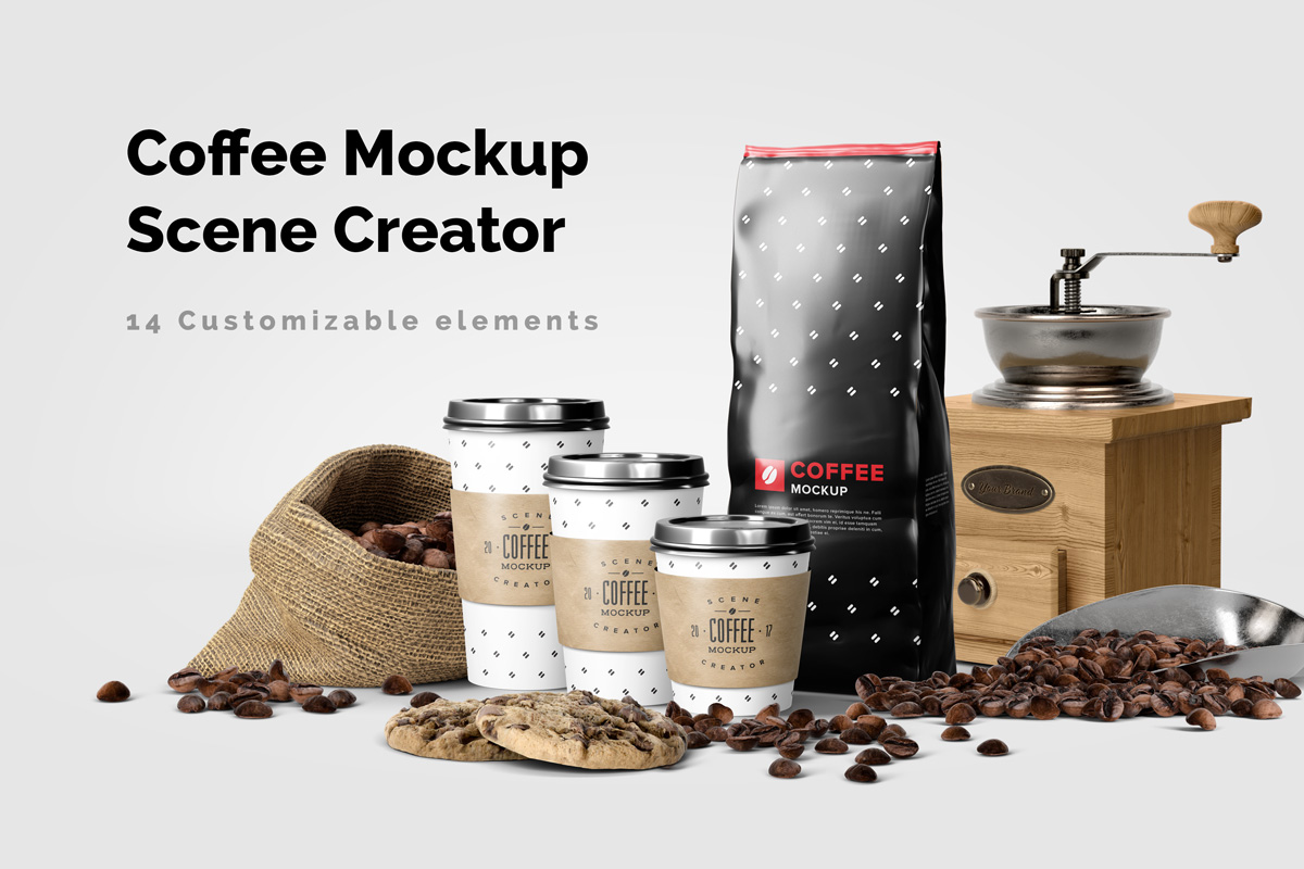Download Drip Coffee Bag Mockup Free Yellowimages