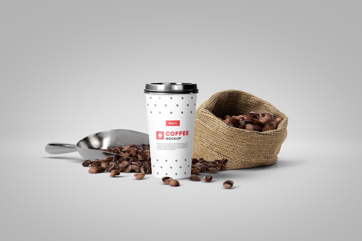 Coffee Mockup Scene Creator