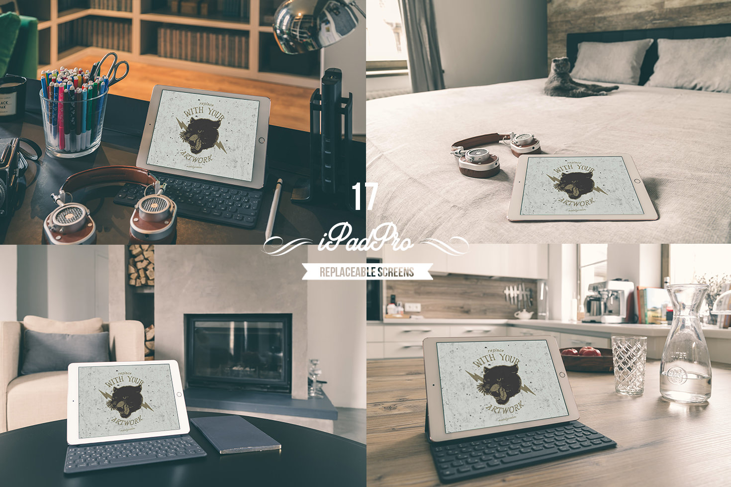 In the house II - 36 devices mockups