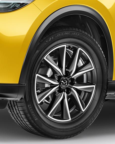 Mazda CX-5 Mockup - Half Side View