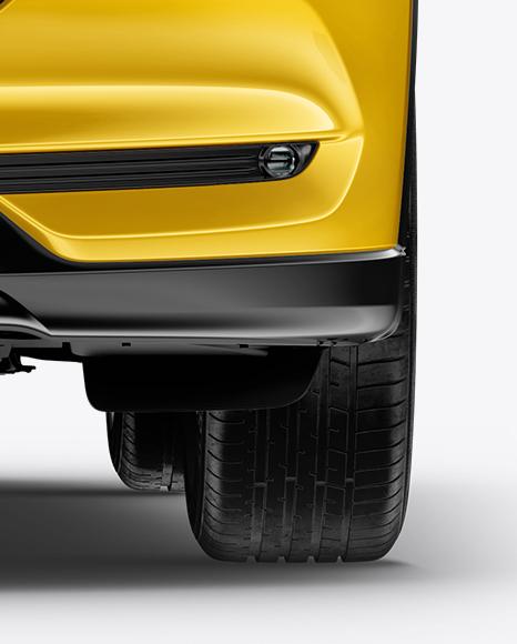 Mazda CX-5 Mockup - Front View