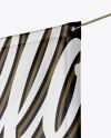 Matte Vinyl Banner Mockup