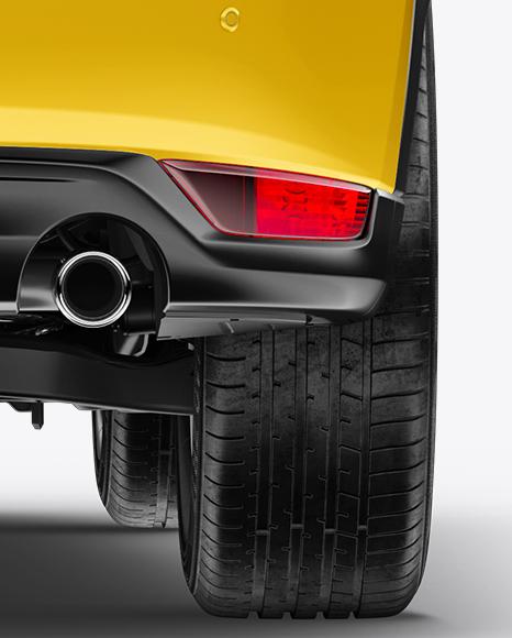 Mazda CX-5 Mockup - Back View