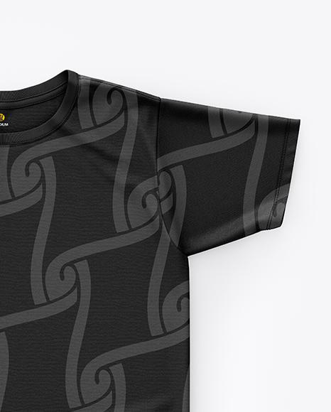T-Shirt Mockup - Top View