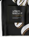 Apron Mockup - Top View