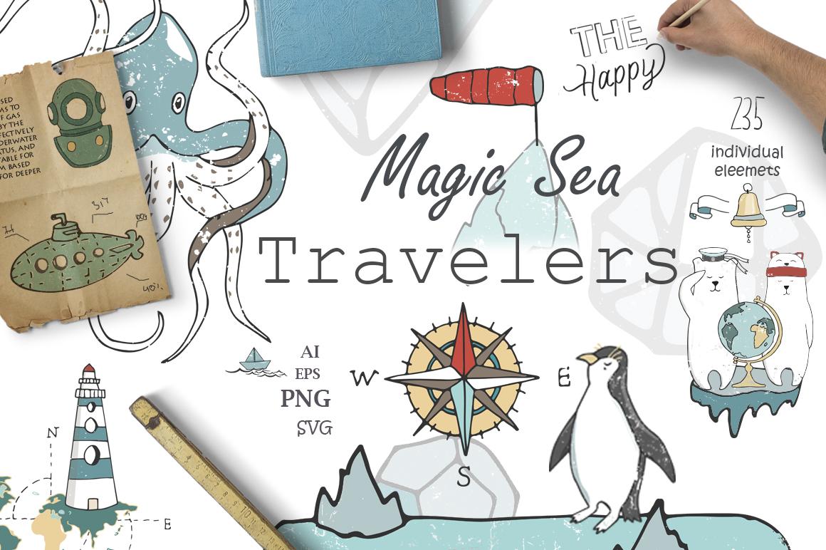 Magic Sea. Travel Kit