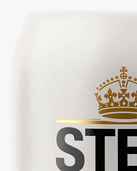 Matte Stein Beer Mug Mockup