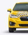 Subaru Impreza 2017 Mockup - Front view