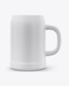 Ceramic Stein Beer Mug Mockup