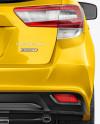 Subaru Impreza 2017 Mockup - Back view