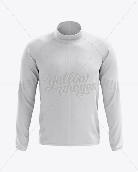 Men's Midlayer Soccer Shirt Mockup - Front View