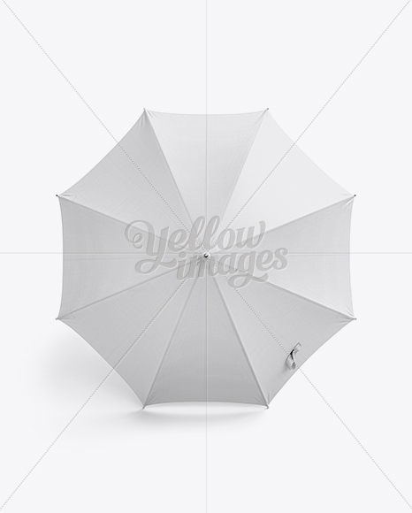 Download Open Double Umbrella Mockup Top View Yellowimages