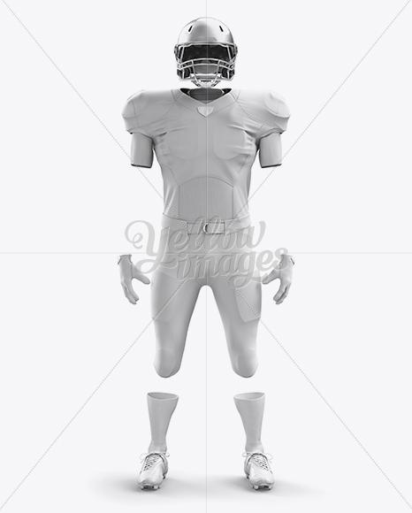 Download American Football Helmet Mockup Top Back Halfside View Yellowimages