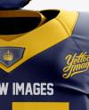 American Football Kit Mockup - Front View