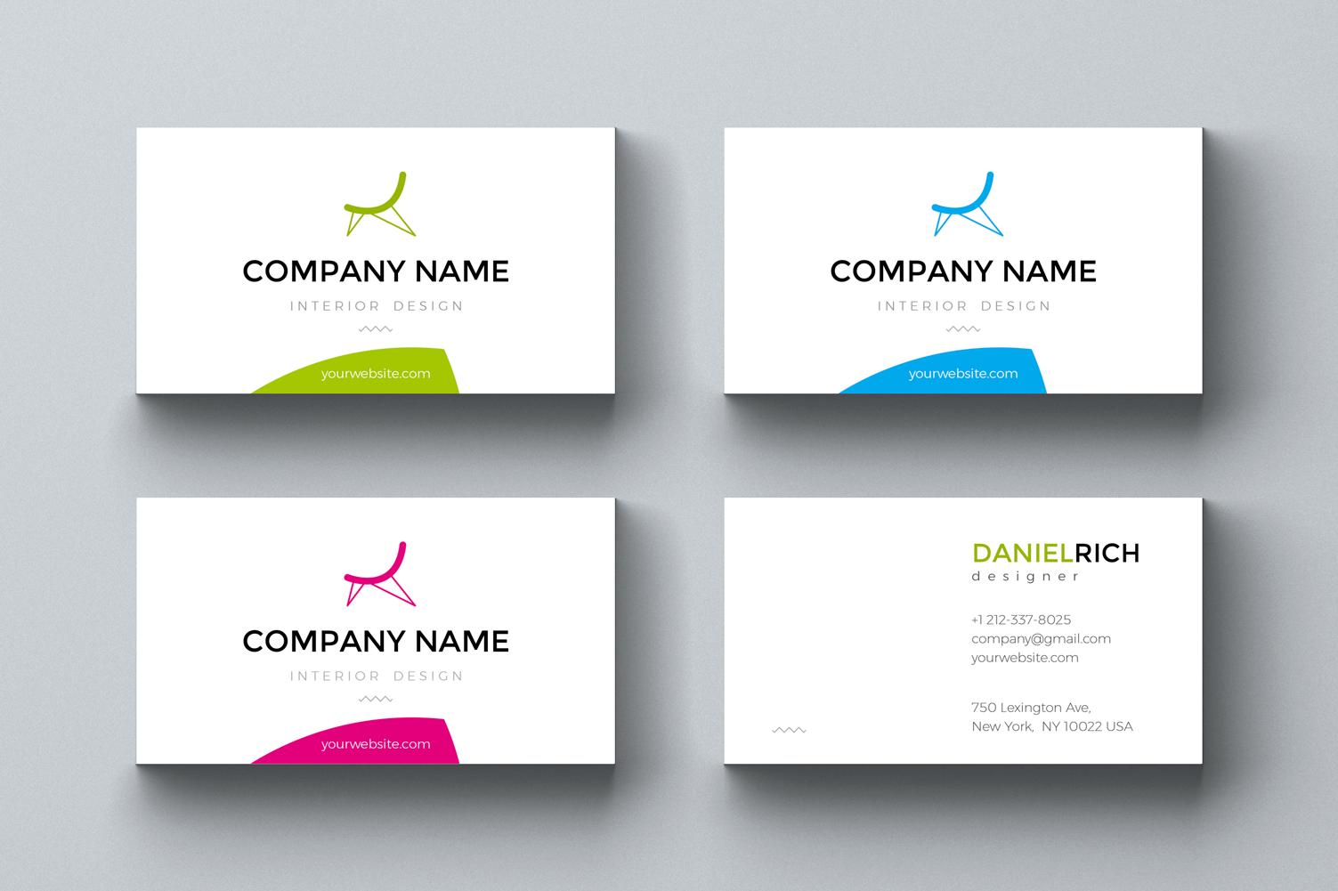 Daniel. Business card template