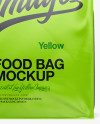 11lb Food Bag Mockup - Front View